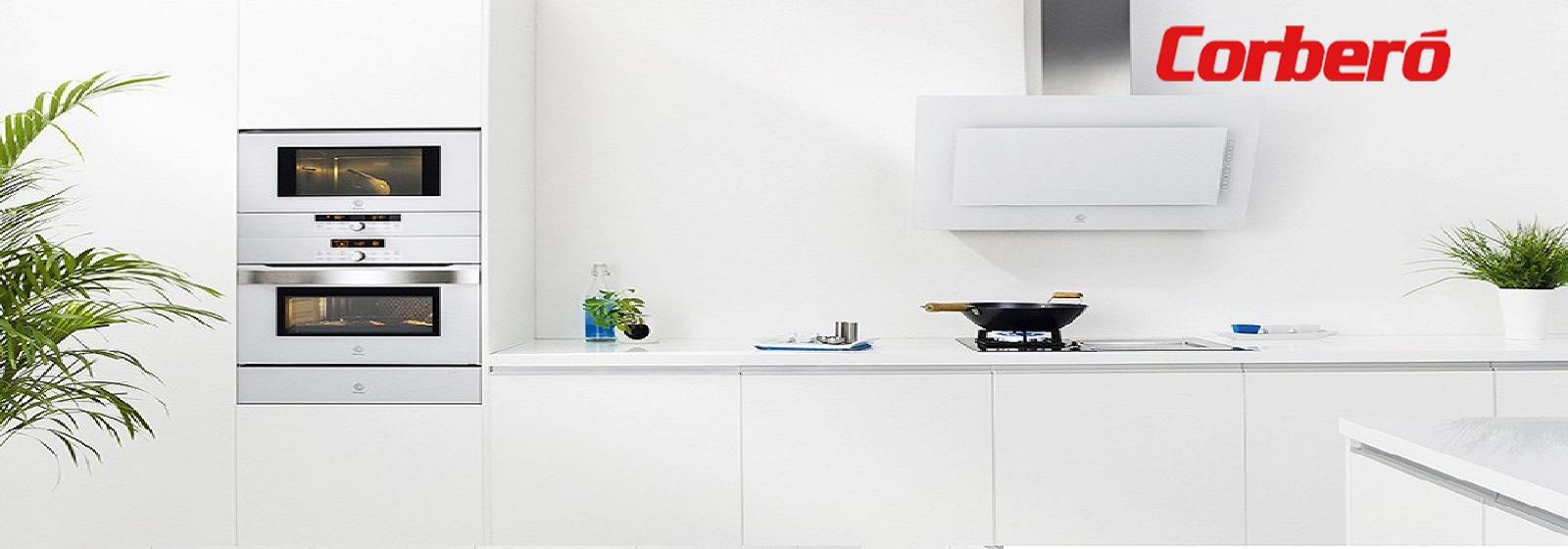 Electrodomésticos Lavadoras Secadoras Lavavajillas Frío Cocinas Hornos Placas Campanas Microondas Hornos sobremesa Agua cliente sanitaria