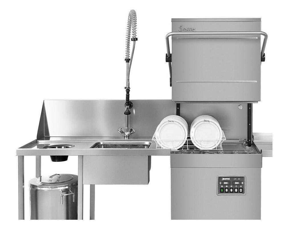 Lavavajillas de bajo mostrador de gran rendimiento y producción. Al igual que los lavavasos mantiene la misma estética y diseño con las mismas características técnicas de fabricación. Fiabilidad, robustez y calidad de lavado