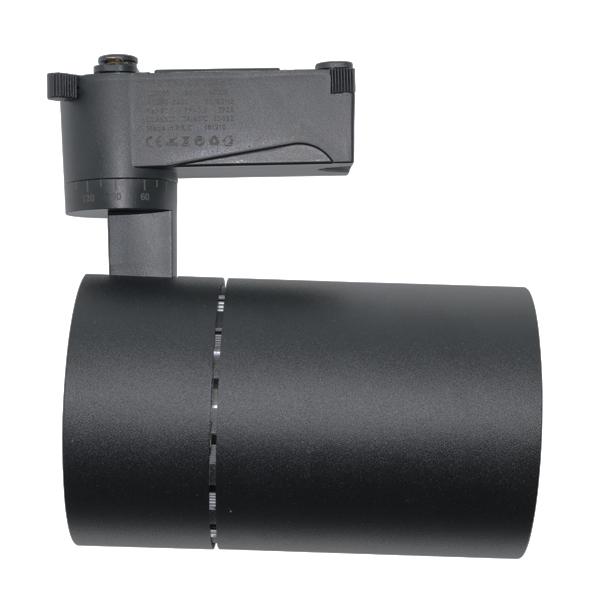 Foco LED para carril Luxtar Negro 30W UGR 17