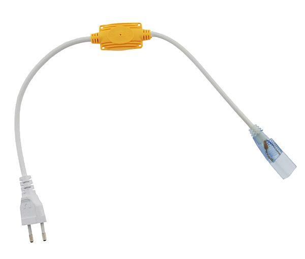Rectificador de corriente que permite conectar la tira LED 220V SMD 2835de 14,4W/m monocolor a la red sin la necesidad de transformador.