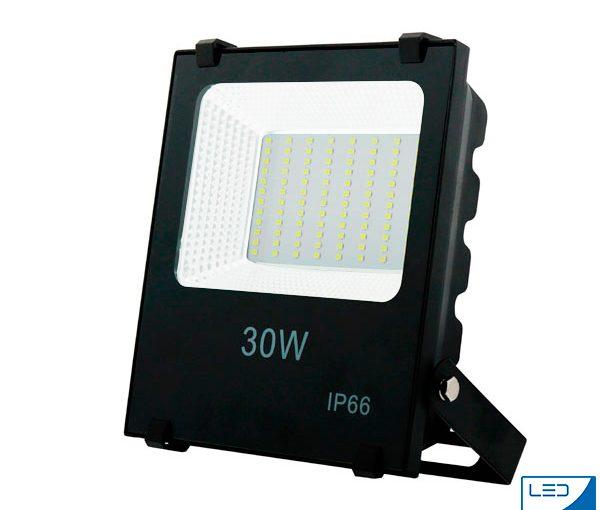 Comprar Foco proyector LED en Andorra al mejor precio de andorra SMD Pro 30W 110Lm/W protección al agua
