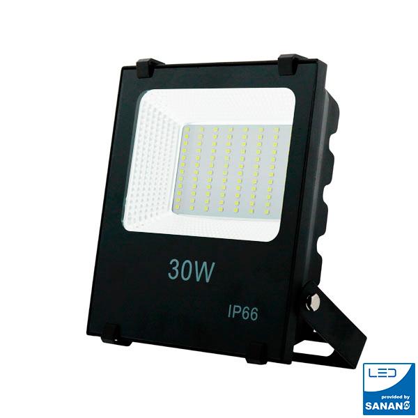 Foco proyector LED en Andorra SMD Pro 30W 110Lm/W