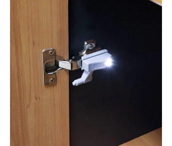 BisaLight LED para Bisagra para Armarios de cocina o varios
