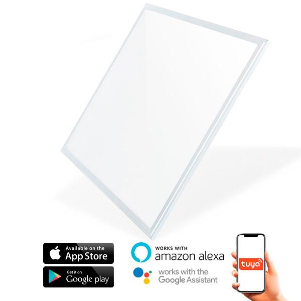 Panel LED SmartHome 60X60 cm 40W App CCT convierta su casa en una casa inteligente