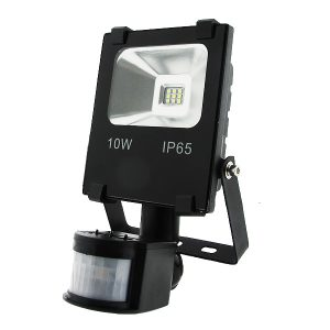 Foco proyector LED SMD Pro con detector 10W