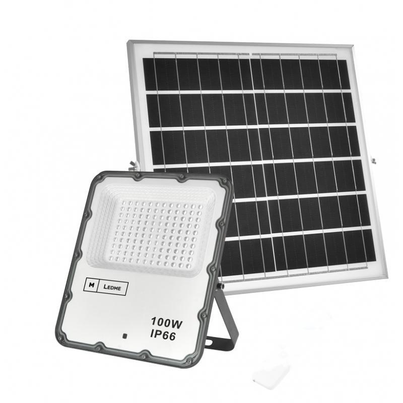 Foco Proyector Led Solar Venecia 100W